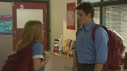 Natasha Williams, Chris Pappas in Neighbours Episode 6130