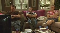 Lucas Fitzgerald, Karl Kennedy, Mark Brennan in Neighbours Episode 6131