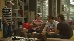 Karl Kennedy, Mark Brennan, Michael Williams, Lucas Fitzgerald in Neighbours Episode 6131