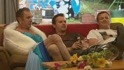 Karl Kennedy, Lucas Fitzgerald, Michael Williams in Neighbours Episode 6131
