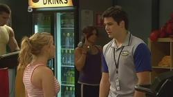 Natasha Williams, Chris Pappas in Neighbours Episode 6132