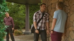 Paul Robinson, Tomas Bersky, Andrew Robinson in Neighbours Episode 6135