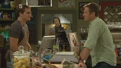 Kyle Canning, Kate Ramsay, Michael Williams in Neighbours Episode 6135