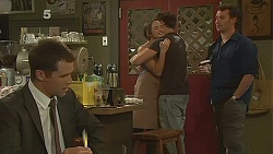 Mark Brennan, Kate Ramsay, Kyle Canning, Lucas Fitzgerald in Neighbours Episode 6135