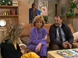 Charlene Mitchell, Henry Mitchell, Madge Mitchell, Harold Bishop in Neighbours Episode 0503