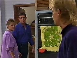 Des Clarke, Daphne Clarke, Scott Robinson in Neighbours Episode 0503