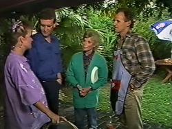 Daphne Clarke, Des Clarke, Helen Daniels, Jim Robinson in Neighbours Episode 0503