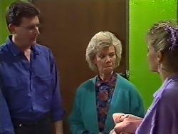 Des Clarke, Helen Daniels, Daphne Clarke in Neighbours Episode 0503