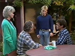 Helen Daniels, Jim Robinson, Scott Robinson, Paul Robinson in Neighbours Episode 0503
