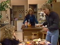 Charlene Mitchell, Madge Bishop, Henry Ramsay in Neighbours Episode 0503