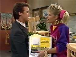 Paul Robinson, Des Clarke in Neighbours Episode 0504