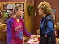 Daphne Clarke, Madge Bishop in Neighbours Episode 0504