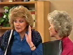 Madge Bishop, Helen Daniels in Neighbours Episode 0504