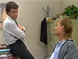 Paul Robinson, Scott Robinson in Neighbours Episode 0504