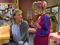 Scott Robinson, Daphne Clarke in Neighbours Episode 0504