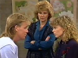 Scott Robinson, Madge Bishop, Charlene Mitchell in Neighbours Episode 0505