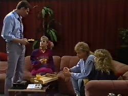 Des Clarke, Daphne Clarke, Scott Robinson, Charlene Mitchell in Neighbours Episode 0505