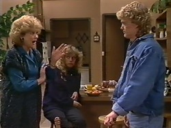 Madge Bishop, Charlene Mitchell, Henry Ramsay in Neighbours Episode 0505