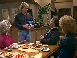 Helen Daniels, Henry Ramsay, Harold Bishop, Madge Bishop in Neighbours Episode 0505