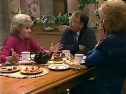 Helen Daniels, Harold Bishop, Madge Bishop in Neighbours Episode 0505