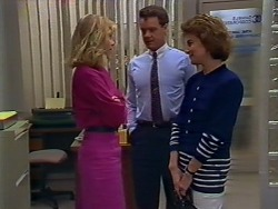 Jane Harris, Paul Robinson, Gail Robinson in Neighbours Episode 0506