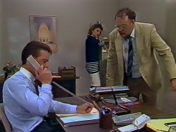 Paul Robinson, Gail Robinson, Harold Bishop in Neighbours Episode 0506