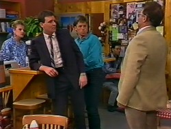 Daphne Clarke, Des Clarke, Mike Young, Harold Bishop in Neighbours Episode 0506