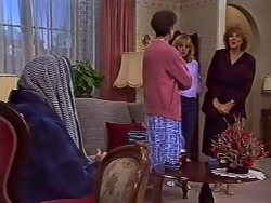 Harold Bishop, Nell Mangel, Jane Harris, Madge Bishop in Neighbours Episode 0506
