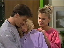 Mike Young, Jane Harris, Daphne Clarke in Neighbours Episode 0507