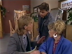 Scott Robinson, Mike Young, Charlene Mitchell in Neighbours Episode 0507