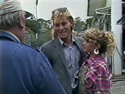 Rob Lewis, Scott Robinson, Charlene Mitchell in Neighbours Episode 0509