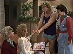 Helen Daniels, Madge Bishop, Henry Ramsay, Lucy Robinson in Neighbours Episode 0509