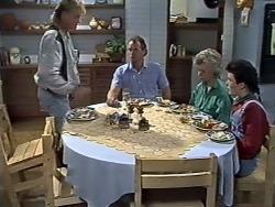 Scott Robinson, Jim Robinson, Helen Daniels, Lucy Robinson in Neighbours Episode 0510