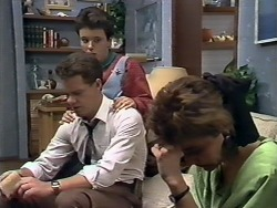 Paul Robinson, Lucy Robinson, Gail Robinson in Neighbours Episode 0510