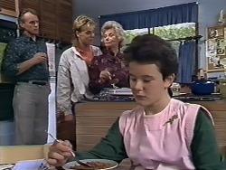 Jim Robinson, Scott Robinson, Helen Daniels, Lucy Robinson in Neighbours Episode 0510