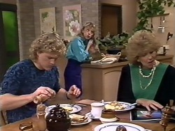 Henry Ramsay, Charlene Mitchell, Madge Bishop in Neighbours Episode 0510