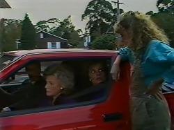Paul Robinson, Helen Daniels, Gail Lewis, Charlene Mitchell in Neighbours Episode 0511