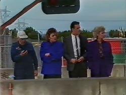 Rob Lewis, Gail Lewis, Paul Robinson, Helen Daniels in Neighbours Episode 0511