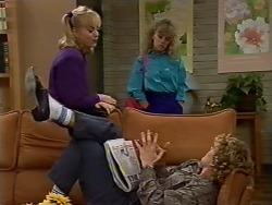 Jane Harris, Charlene Mitchell, Henry Mitchell in Neighbours Episode 0511