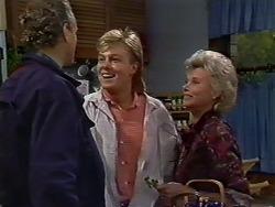 Jim Robinson, Scott Robinson, Helen Daniels in Neighbours Episode 0512