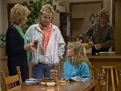 Madge Bishop, Scott Robinson, Charlene Mitchell, Henry Ramsay in Neighbours Episode 0512
