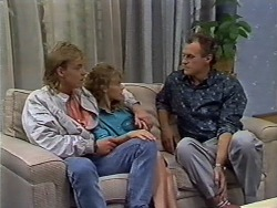 Scott Robinson, Charlene Mitchell, Jim Robinson in Neighbours Episode 0512
