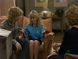 Henry Ramsay, Charlene Mitchell, Madge Bishop in Neighbours Episode 0512