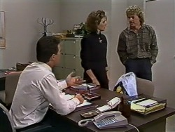 Paul Robinson, Gail Robinson, Henry Ramsay in Neighbours Episode 0512