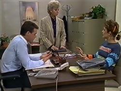 Paul Robinson, Helen Daniels, Gail Robinson in Neighbours Episode 0512