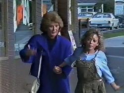 Madge Bishop, Charlene Mitchell in Neighbours Episode 0512