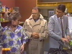 Daphne Clarke, Harold Bishop, Des Clarke in Neighbours Episode 0531