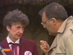 Nell Mangel, Harold Bishop in Neighbours Episode 0531