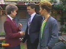 Nell Mangel, Paul Robinson, Gail Robinson in Neighbours Episode 0531