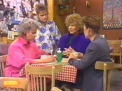 Helen Daniels, Daphne Clarke, Madge Bishop, Gail Robinson in Neighbours Episode 0531